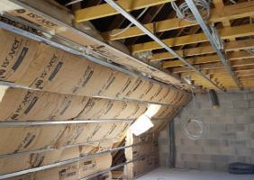 Aménagement de combles en rénovation avec isolation dans le Calvados